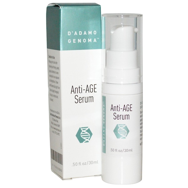 D'adamo, Anti-Age Serum, .50 fl oz (15 ml) (Discontinued Item)