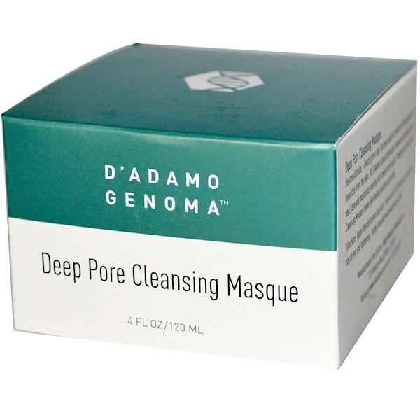 D'adamo, Deep Pore Cleansing Masque, 4 fl oz (120 ml) (Discontinued Item)