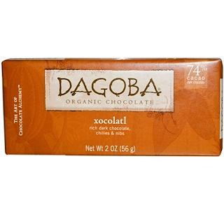 Dagoba Organic Chocolate, Xocolatl, 2 oz (56 g)
