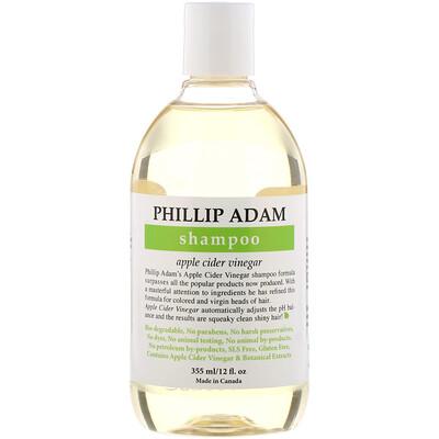Купить Phillip Adam Shampoo, Apple Cider Vinegar, 12 fl oz (355 ml)