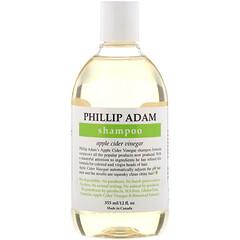 Phillip Adam, 洗髮水,蘋果醋,12 液量盎司(355 毫升)
