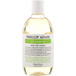 Phillip Adam, Shampoo, Apple Cider Vinegar, 12 fl oz (355 ml)