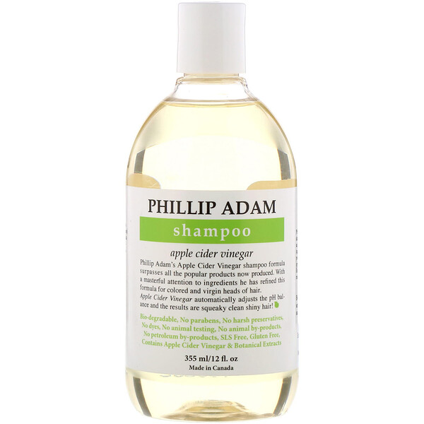 Phillip Adam, Shampoo, Apple Cider Vinegar, 12 fl oz (355 ml)