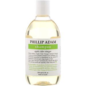 Phillip Adam, Shampoo, Apple Cider Vinegar, 12 fl oz (355 ml) отзывы покупателей
