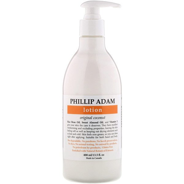 Phillip Adam, Lotion, Original Coconut, 13.5 fl oz (400 ml)