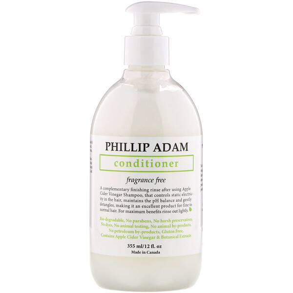 Conditioner, Fragrance Free, 12 fl oz (355 ml)