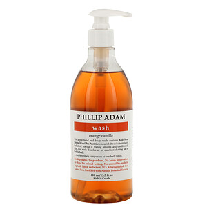 Phillip Adam, Wash, Orange Vanilla, 13.5 fl oz (400 ml) отзывы