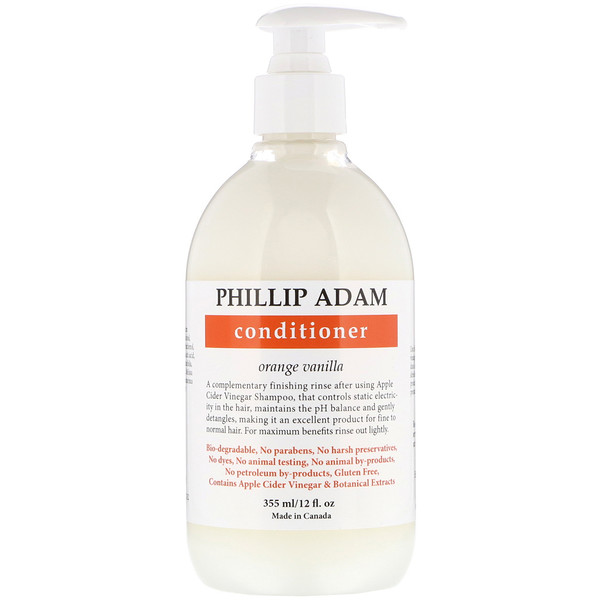 Phillip Adam, Conditioner, Orange Vanilla, 12 fl oz (355 ml) (Discontinued Item)