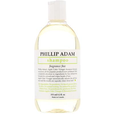 Купить Phillip Adam Shampoo, Fragrance Free, 12 fl oz (355 ml)