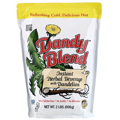 Купить Растворимый травяной напиток с одуванчиком, без кофеина, 2 фунта (908 г)