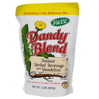 Dandy Blend, Instant Herbal Beverage with Dandelion, Caffeine Free, 2 lbs (908 g)