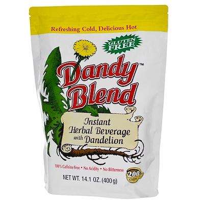 Купить Растворимый травяной напиток с одуванчиком, без кофеина, 14.1 унции (400 г)