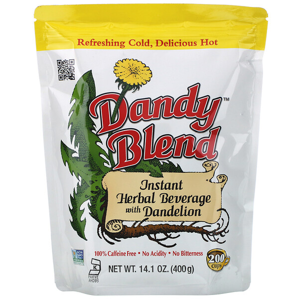Dandy Blend, Instant Herbal Beverage with Dandelion, Caffeine Free, 14.1 oz (400 g)