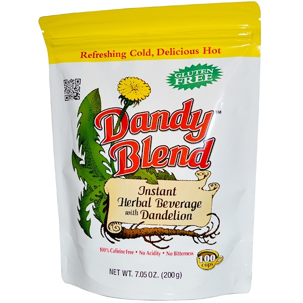 Dandy Blend, Instant Herbal Beverage with Dandelion, Caffeine Free, 7.05 oz (200 g)