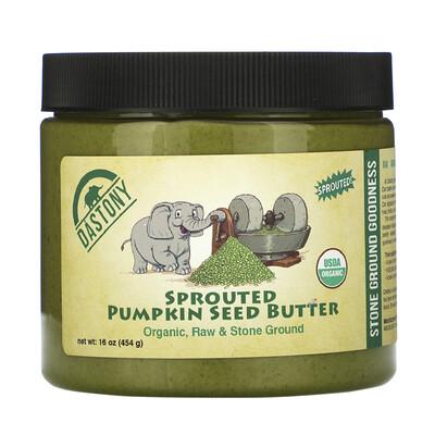 Купить Dastony Organic Sprouted Pumpkin Seed Butter, 16 oz ( 454 g)