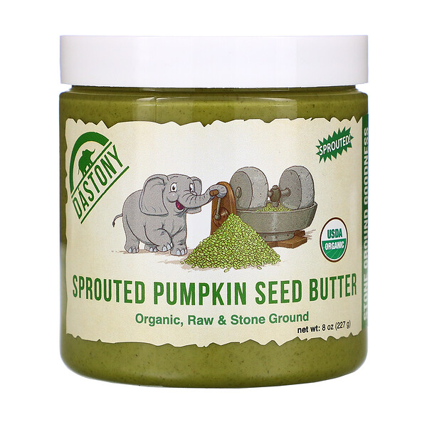 Organic Sprouted Pumpkin Seed Butter, 8 oz (227 g)