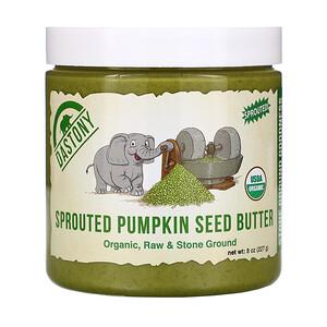 Дастони, Organic Sprouted Pumpkin Seed Butter, 8 oz (227 g) отзывы покупателей
