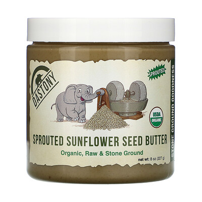 Купить Dastony Organic Sprouted Sunflower Seed Butter, 8 oz (227 g)