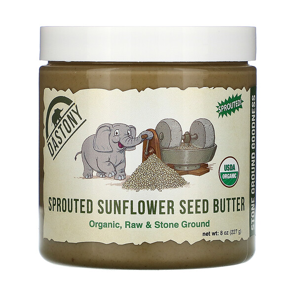 Organic Sprouted Sunflower Seed Butter, 8 oz (227 g)