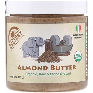 Dastony, 100 % de mantequilla orgánica de almendra, 8 oz (227 g)