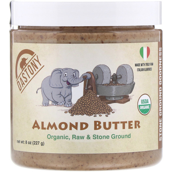 100% Organic, Almond Butter, 8 oz (227 g)