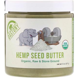Dastony, Mantequilla de semillas de cáñamo 100 % orgánica, 8 oz (227 g)