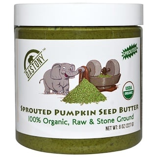 Dastony, 100% Organic, Sprouted Pumpkin Seed Butter, 8 oz (227 g)