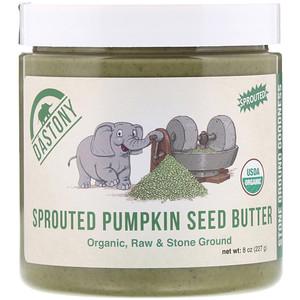 Дастони, Organic, Sprouted Pumpkin Seed Butter, 8 oz (227 g) отзывы покупателей
