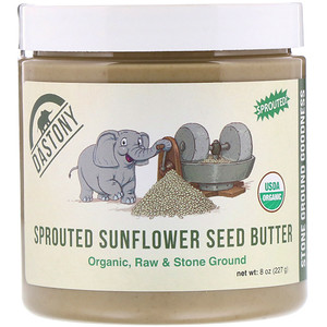 Дастони, 100% Organic Sprouted Sunflower Seed Butter, 8 oz (227 g) отзывы покупателей