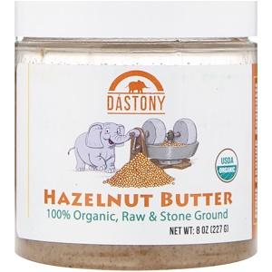 Дастони, Organic, Hazelnut Butter, 8 oz (227 g) отзывы покупателей