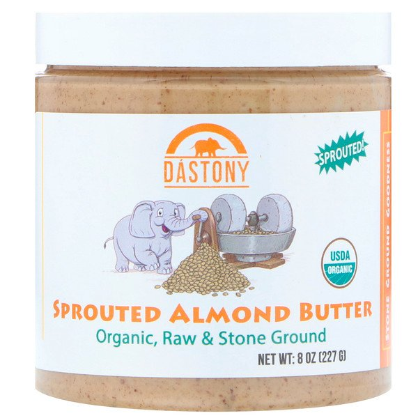 Dastony, Organic Sprouted Almond Butter, 8 أوقية (227 غرام) (Discontinued Item)