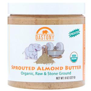 Дастони, Organic, Sprouted Almond Butter, 8 oz (227 g) отзывы покупателей