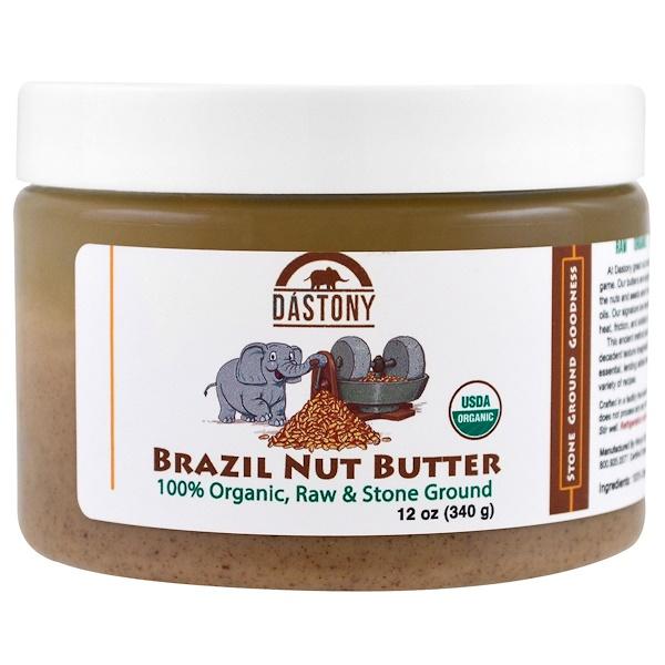 Dastony, 100% Organic Brazil Nut Butter, 12 oz (340 g) (Discontinued Item)