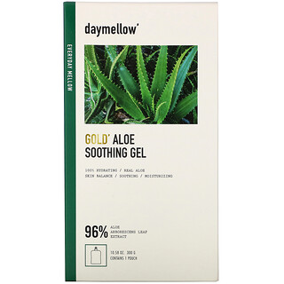 Daymellow, Gold, Aloe Soothing Gel, 10.58 oz (300 g)