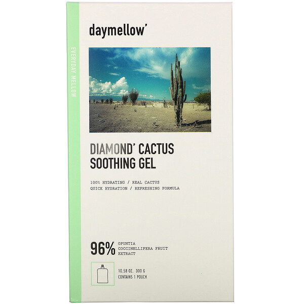 Daymellow, Diamond, Cactus Soothing Gel, 10.58 oz (300 g)