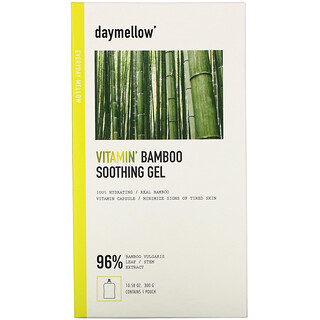 Daymellow, Vitamin, Bamboo Soothing Gel, 10.58 oz (300 g)