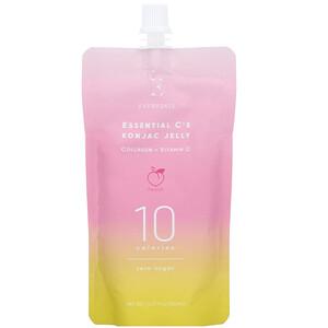 Everydaze, Essential C's Konjac Jelly, Peach, 4 Pouches, 5.07 fl oz (150 ml ) Each отзывы