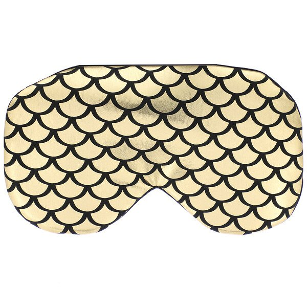 Everydaze, Double Therapy Eye Mask, Gold, 1 Mask
