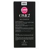 Double Dare, OMG! Mega Hair Band, Hot Pink, 1 Piece