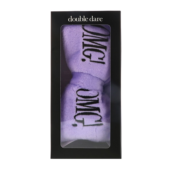 Double Dare, OMG, Mega Hair Band, Purple, 1 Piece