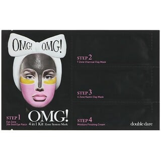 Double Dare, OMG, Zone System Mask, 4 in 1 Kit