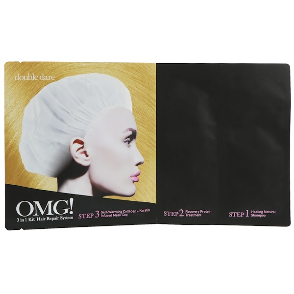 Double Dare, OMG!, Hair Repair System, 3 in 1 Kit