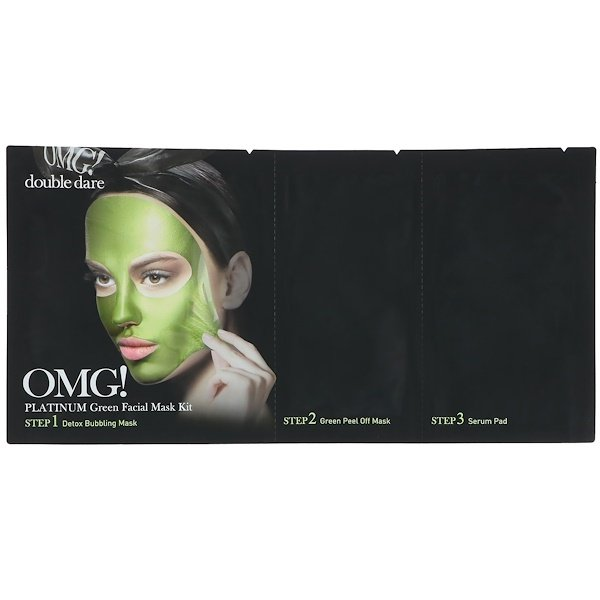 Platinum Green Facial Mask Kit, 1 Kit