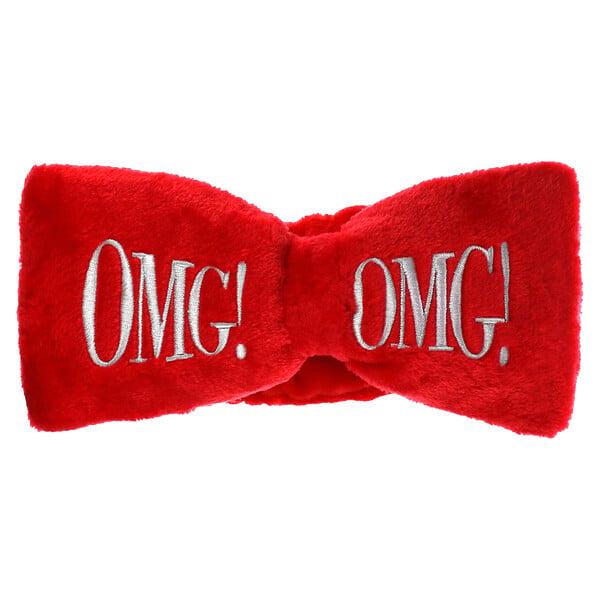 OMG! Mega Hair Band, Red, 1 Piece