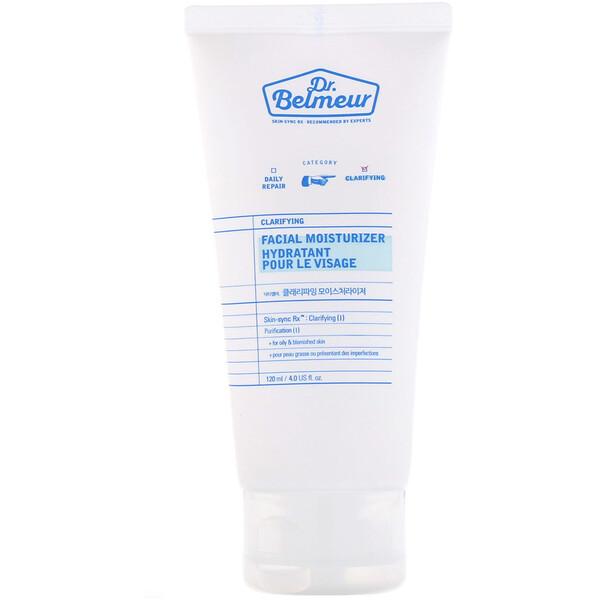 Dr. Belmeur, Clarifying, Facial Moisturizer, 4 fl oz (120 ml)