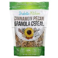 Diabetic Kitchen, Granola Cereal, Cinnamon Pecan, 11 oz (311 g)