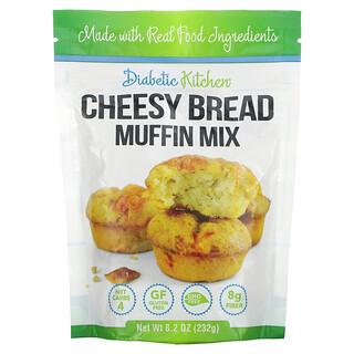 Diabetic Kitchen, Cheesy Bread Muffin Mix, 8.2 oz (232 g)