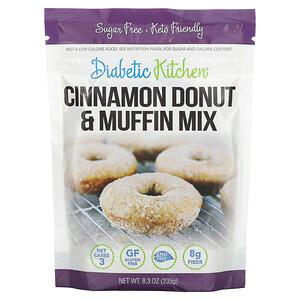 Diabetic Kitchen, Cinnamon Donut & Muffin Mix, 8.3 oz ( 235 g)'