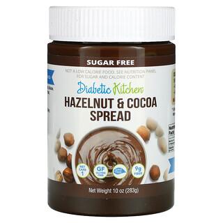 Diabetic Kitchen, Hazelnut & Cocoa Spread, 10 oz (283 g)