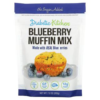 Diabetic Kitchen, Blueberry Muffin Mix, 7.2 oz (203 g)